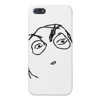 Suspicious Face iPhone 5 Cover