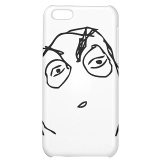 Suspicious Face Cover For iPhone 5C