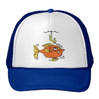 Suspicious Fish Trucker Hat