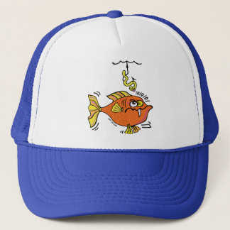 Suspicious Fish Trucker Hat
