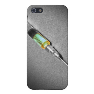 Suspicious looking syringe case for iPhone SE/5/5s