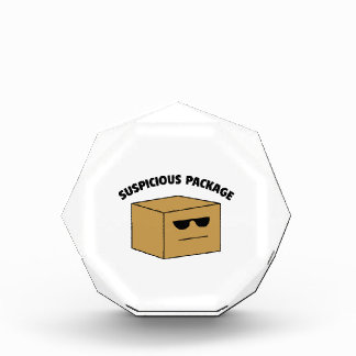 Suspicious Package Awards