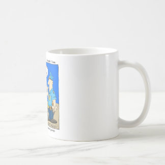 Suspicious Package Funny Police Cartoon Gifts Classic White Coffee Mug