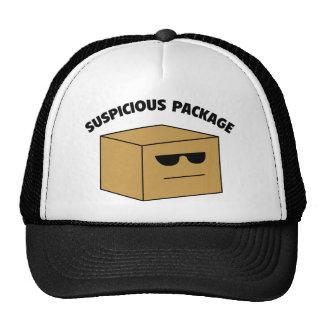 Suspicious Package Trucker Hat