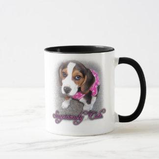 Suspiciously Cute Beagle mug