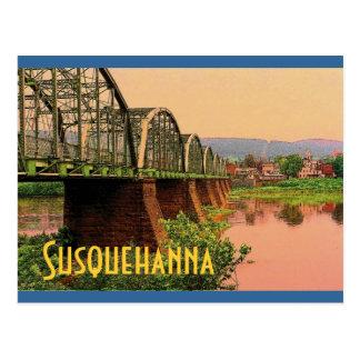 Susquehanna River Postcard