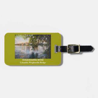 Susquehanna RiverLuggage purse or key chain tag
