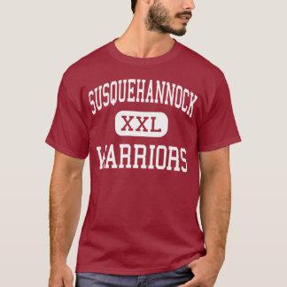 Susquehannock - guerreros - alto - roca de la playera