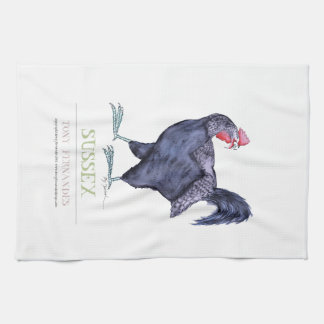 SUSSEX HEN, tony fernandes Towel