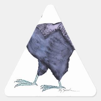 SUSSEX HEN, tony fernandes Triangle Sticker