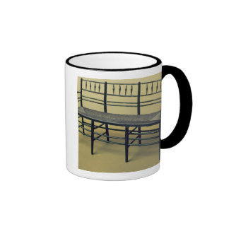 Sussex rush-seated chair (wood and rush) ringer mug