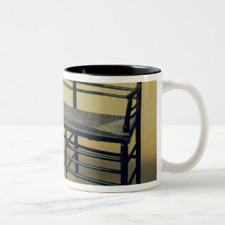 Sussex rush-seated chair (wood and rush) Two-Tone coffee mug