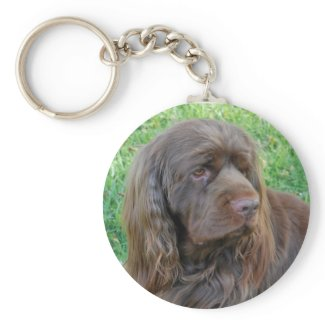 Sussex Spaniel Key Chain