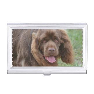 Sussex Spaniel Business Card Cases