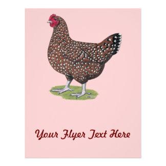 Sussex Speckled Hen Full Color Flyer