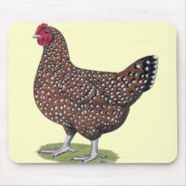Sussex:  Speckled Hen Mouse Pad