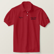 Sussex Tech Electronics Embroidered Polo Shirt