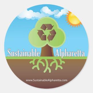 Sustainable Alpharetta Sticker