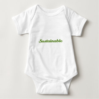 Sustainable Baby Bodysuit