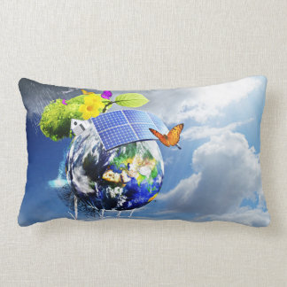 Sustainable Energy Ruling The Earth Pillow
