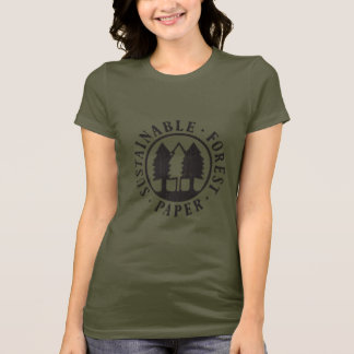 Sustainable Forest Paper T-Shirt