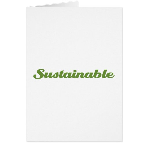 Sustainable Greeting Cards