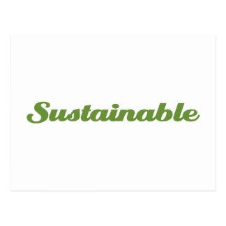 Sustainable Postcard