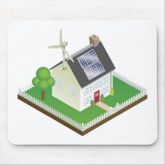 Sustainable renewable energy house mouse mats