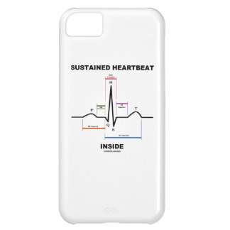 Sustained Heartbeat Inside (ECG/EKG) Cover For iPhone 5C