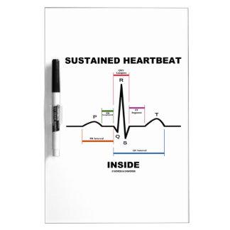 Sustained Heartbeat Inside (ECG/EKG) Dry-Erase Board
