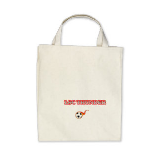 Sustainible Soccer Grocery Bag