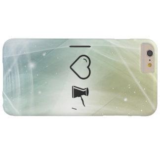 Sustancia metálica fresca funda para iPhone 6 plus barely there