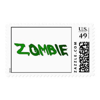 Sustancia pegajosa del zombi sellos