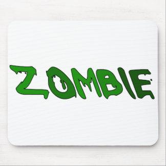 Sustancia pegajosa del zombi tapete de ratones