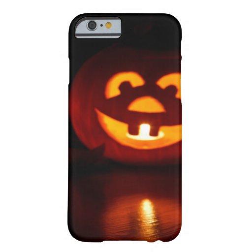 Susto de la calabaza de Halloween Funda De iPhone 6 Barely There