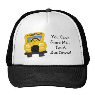 Susto del conductor del autobús (personalizable) gorros bordados