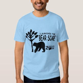 Susto del oso playeras