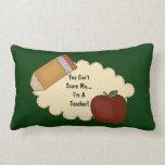 Susto del profesor (personalizable) almohadas