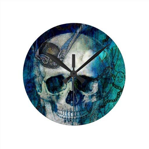 SUSTOS 3.jpg de HALLOWEEN Relojes De Pared