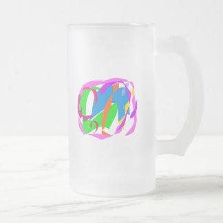 Susurro de sonido total de la corriente de la bris taza cristal mate
