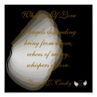 Susurros angelicales del amor, personalizar del ca posters