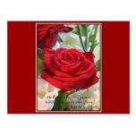 Susurros del amor tarjeta postal