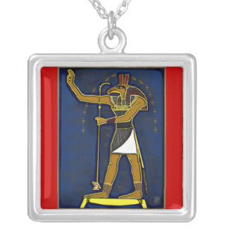 sutekh silver plated necklace