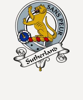 Sutherland Clan Badge Tee Shirt