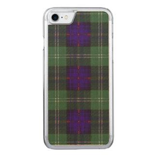 Sutherland Clan Plaid Scottish tartan Carved iPhone 8/7 Case