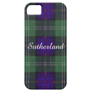 Sutherland Clan Plaid Scottish tartan iPhone SE/5/5s Case