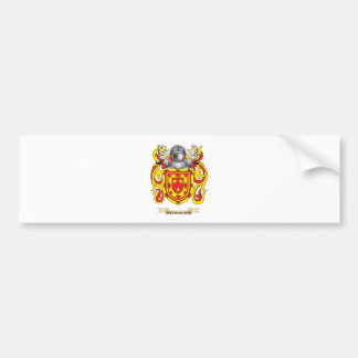 Sutherland Coat of Arms (Family Crest) Car Bumper Sticker