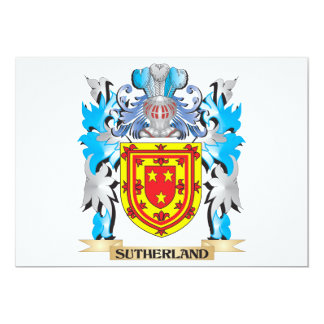Sutherland Coat of Arms - Family Crest Cards