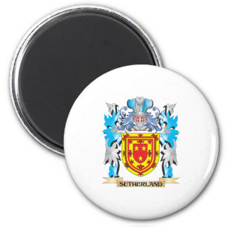 Sutherland Coat of Arms - Family Crest Refrigerator Magnet