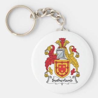Sutherland Family Crest Keychain